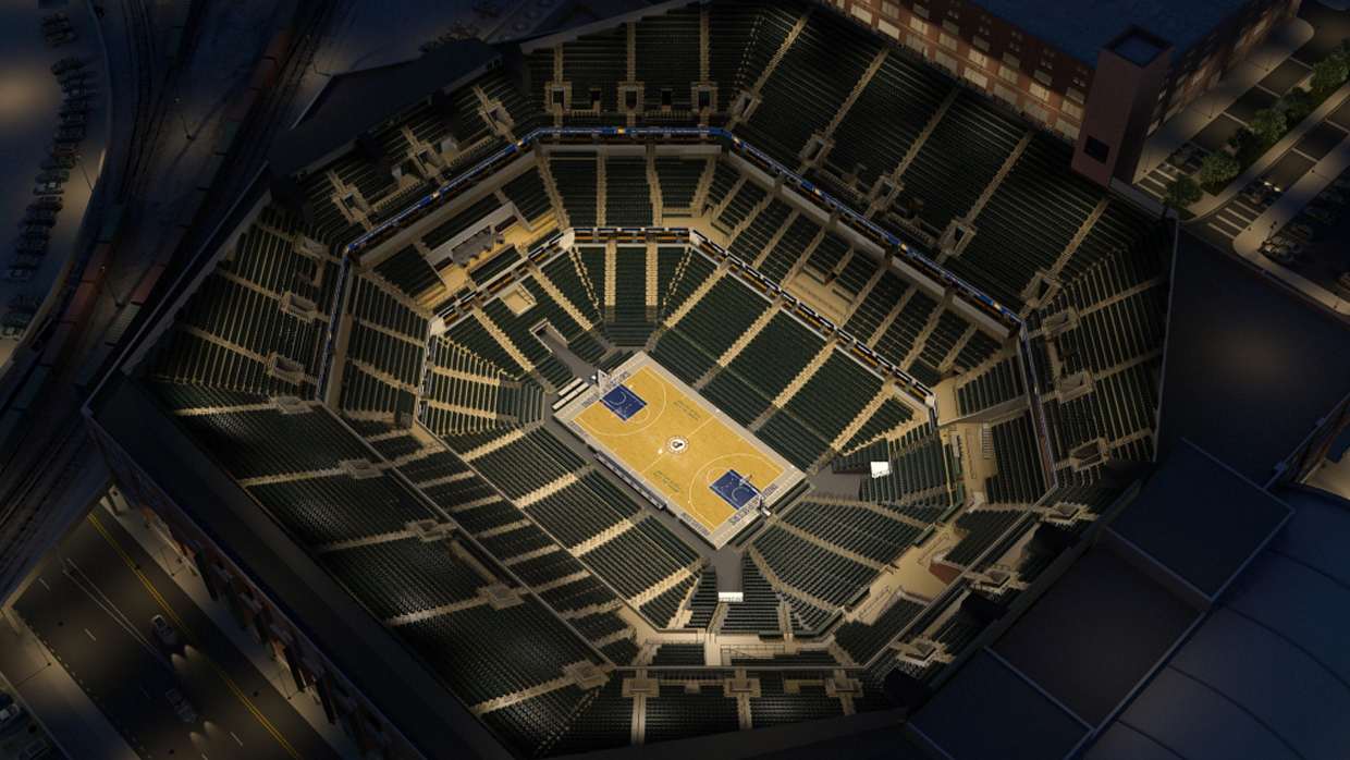 Indiana Pacers Virtual Venue By Iomedia